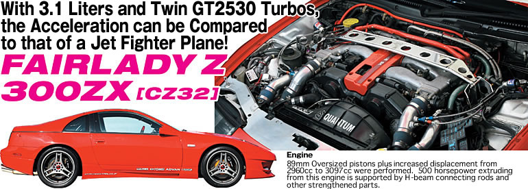 FEATURED VEHICLES | FAIRLADY Z 300ZX [CZ32] ] J D M  OPTION