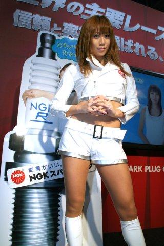 NGKスパークプラグ 山本 麻美