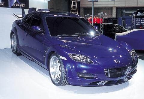 マツダRX-8 「X-MEN Car」